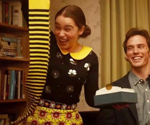 me before you, sam claflin, and emilia clarke image