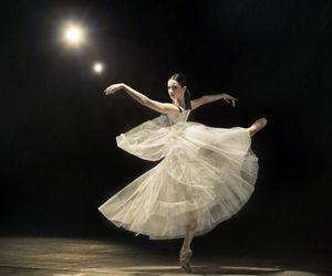 art, ballet, and dress image
