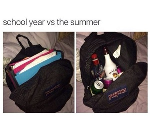 school, drink, and funny image