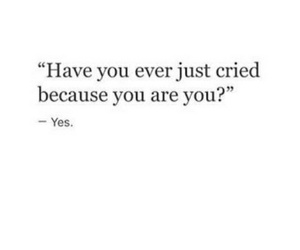 quote, cry, and sad image