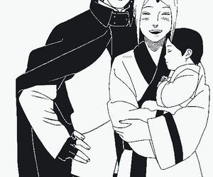 sasusaku, anime, and sakura image