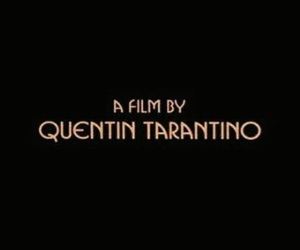 black, film, and quentin tarantino image