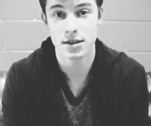 black and white and shawn mendes image
