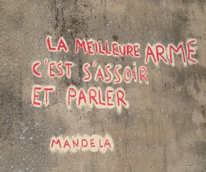 mandela, mur, and phrase image