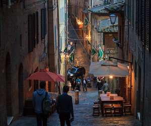 italy, city, and siena image