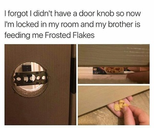 Frosted Flakes, funny, and locked image