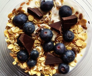 food, healthy, and chocolate image