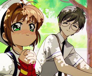 anime, gif, and sakura kinomoto image