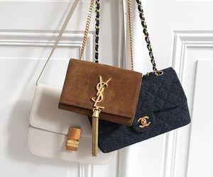 fashion, YSL, and bag image