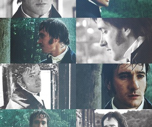 mr darcy, pride and prejudice, and jane austen image
