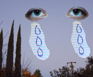 cry, tumblr, and eyes image