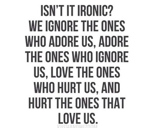 hurt, love, and quote image