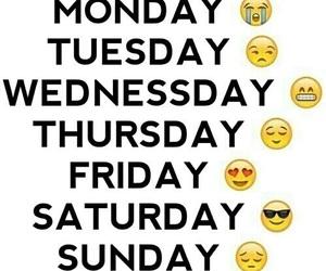 Sunday and emoji image