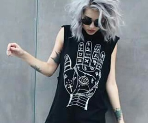 grunge, style, and hair image
