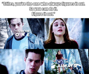 tumblr, teen wolf, and tw image