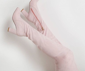 baby pink, chic, and glamour image