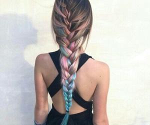 aesthetics, summer fashion, and braid image