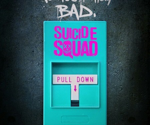 suicide squad, bad, and movie image