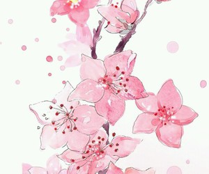 flowers, pink, and wallpaper image