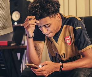 Arsenal, boy, and lucas coly image