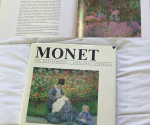 art, monet, and aesthetic image