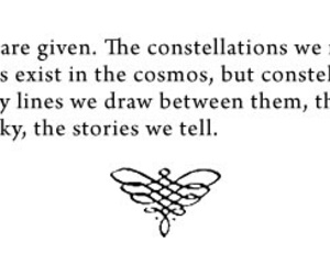 constellation, text, and inspiration image