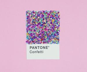 pantone, confetti, and pink image