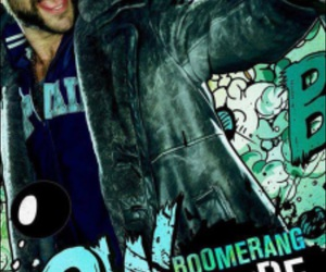 suicide squad, movie, and boomerang image