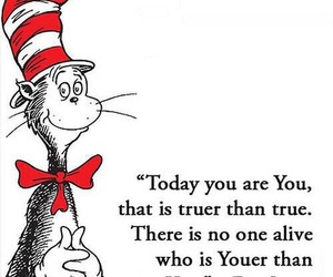 quotes, you, and Dr. Seuss image