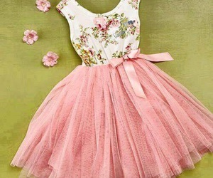 beauty, dres, and pink image