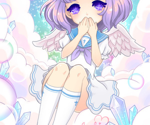 angel, anime, and art image