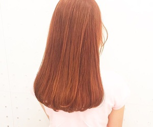 color, hair, and orange image