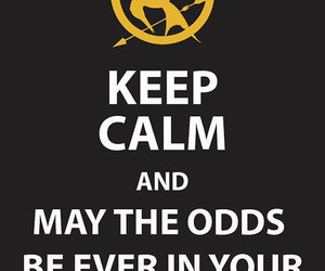 hunger games, keep calm, and the hunger games image