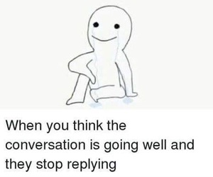 conversation, left on read, and fucked image