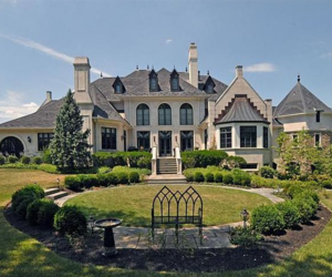 mansion, home, and house image