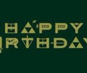 happy birthday and zelda image