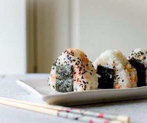 eats, japan, and onigiri image