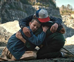 best friends, dustin, and friendship image