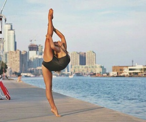 beautiful, blonde, and dance image