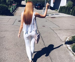 girl, longhair, and outfit image