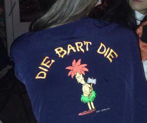 bart, die, and simpsons image