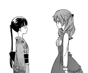 inu x boku ss and roromiya karuta image