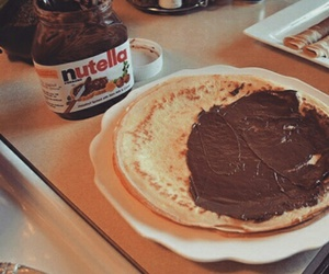 nutella, miss the days, and love image