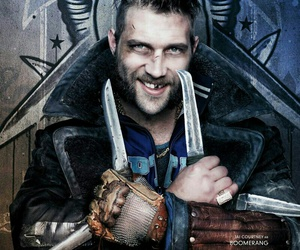 suicide squad, boomerang, and jai courtney image