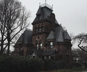 house, dark, and gothic image