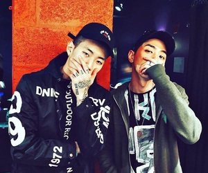 jay park, gray, and aomg image