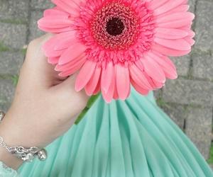 flower, hijab, and muslim image