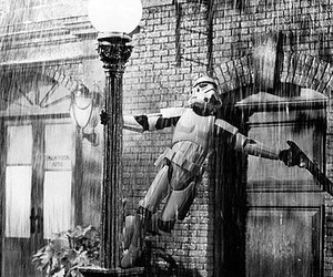storm trooper and Singing In The Rain image