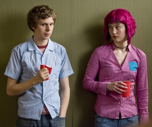 scott pilgrim, movie, and michael cera image