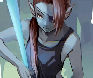 undertale and undyne image